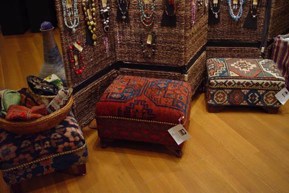 Rug Ottoman Home Decor